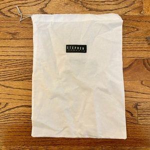 Stephen Venezia White Dust Bag